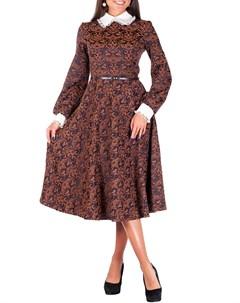 Платье с кружевным воротником и манжетами Sonett
