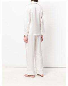 Пижама с контрастной окантовкой Fleur of england