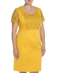 Платье с кружевными вставками Marina Rinaldi Marina rinaldi