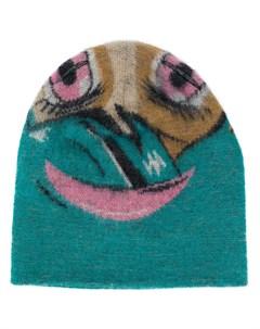 Жаккардовая шапка бини Doublet
