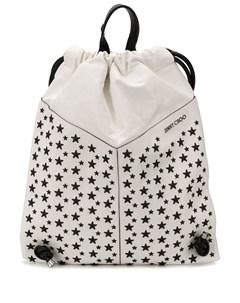 рюкзак Marlon с заклепками в форме звезд Jimmy choo