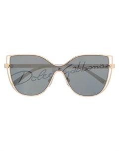 Солнцезащитные очки DG в оправе кошачий глаз Dolce & gabbana eyewear
