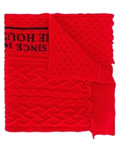 шарф с надписью Raf simons