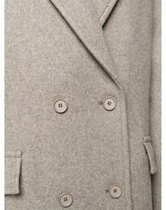 Двубортное пальто Chaman Christian wijnants