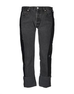Джинсовые брюки капри Kendall + kylie with levi's