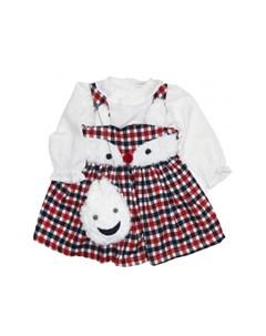 Комплект для девочки сарафан кофта сумка 3230 Baby rose
