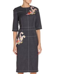 Платье с аппликацией NATALIA PICARIELLO Natalia picariello