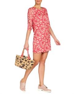 Яркое платье с оригинальным принтом Juicy сouture
