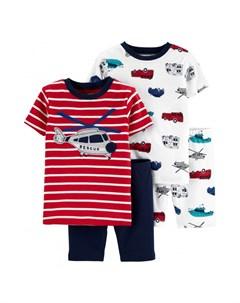 Пижама для мальчика 2 шт 2H450410 Carter`s
