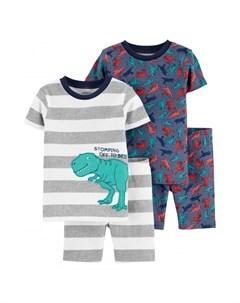Пижама для мальчика 2 шт 2H450310 Carter`s