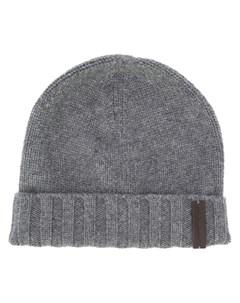 шапка бини с логотипом Ermenegildo zegna