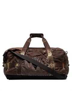 Дорожная сумка с камуфляжным принтом Stone island