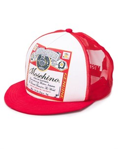 кепка с принтом King of Clothes Moschino