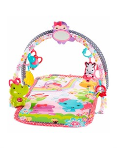 Mattel fisher price dfp64 фишер прайс развивающий коврик для девочек розовый Mattel fisher-price