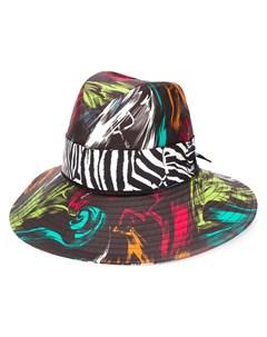 шляпа с абстрактным принтом Missoni