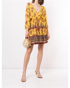 Платье Holli с цветочным принтом Alexis
