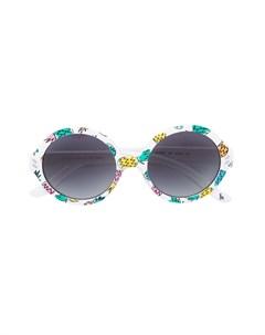 Солнцезащитные очки с круглой оправой Stella mccartney kids