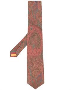 галстук с принтом пейсли Etro