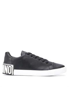 кроссовки с логотипом Moschino