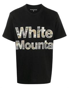 Футболка с логотипом White mountaineering