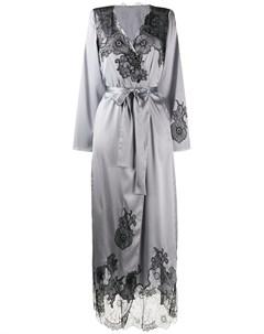 длинный халат Pansy Gardens Myla