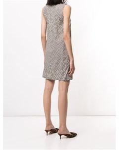 Платье мини с геометричным принтом Paule ka