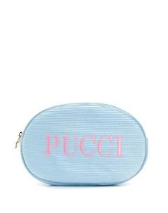 косметичка с логотипом Emilio pucci