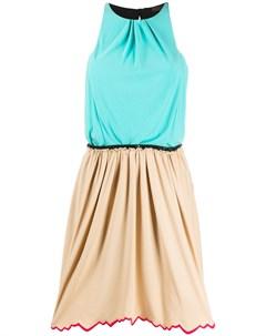 Платье без рукавов со сборками pre owned Louis vuitton