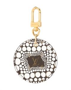 Брелок Pumpkin Dots из коллаборации с Yayoi Kusama pre owned Louis vuitton