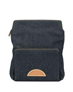 рюкзак с металлическим логотипом pre owned Christian dior
