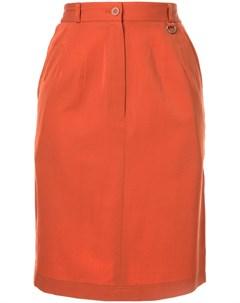 Короткая юбка прямого кроя pre owned Christian dior