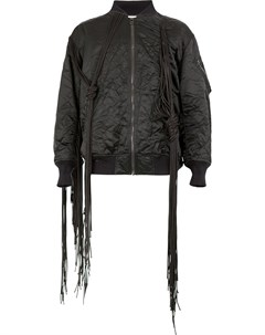 Куртка бомбер с бахромой Facetasm