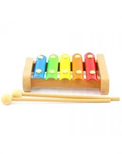 Музыкальный инструмент Ксилофон 5 тонов Lucy&leo