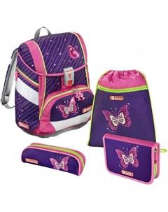Ранец KID Shiny Butterfly с наполнением Step by step