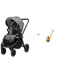 Прогулочная коляска Epica и каталка игрушка Стеллар Барабанщик Carrello