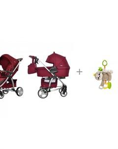 Коляска Vista 2в1 и подвесная игрушка Fisher Price Ленивец Carrello