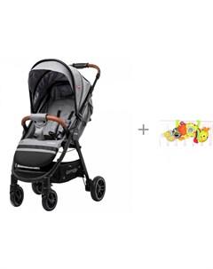 Прогулочная коляска Eclipse CRL 12001 и мягкая игрушка Забавная Гусеница Biba Toys Carrello