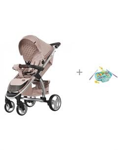 Прогулочная коляска Vista и обучающая игрушка Рыбалка 939570 Жирафики Carrello