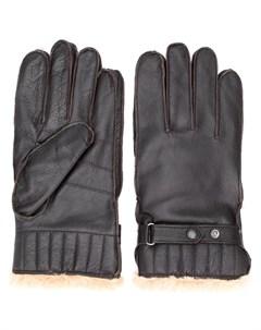 перчатки с искусственным мехом Barbour