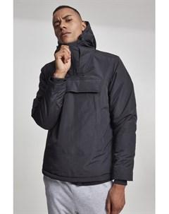 Куртка High Neck Pull Over Jacket Black M Urban classics