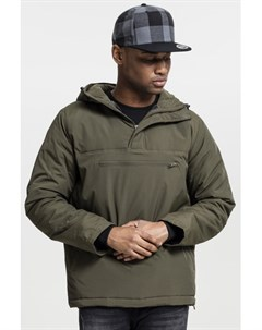 Куртка Padded Pull Over Jacket Olive M Urban classics