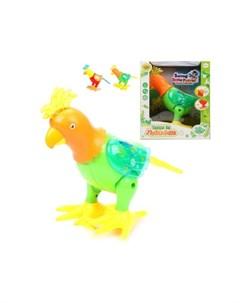 Интерактивная игрушка Попугай электрифицированный Наша игрушка