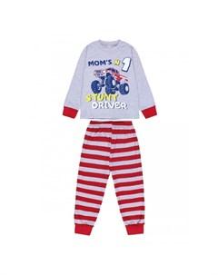Пижама для мальчика Moms stunt driver BK1396M Bonito kids