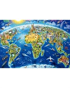 educa 17129 пазл 2000 деталей достопримечательности мира Educa