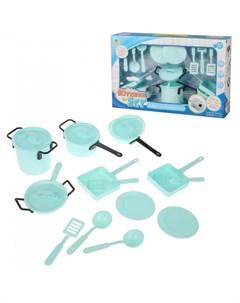 Игровой набор Посуда 18 предметов Наша игрушка