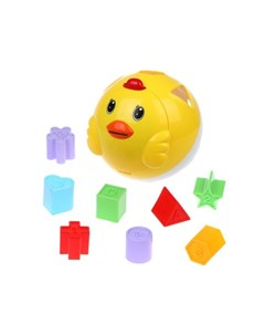 Развивающая игрушка Цыпленок сортер Бамбини Наша игрушка