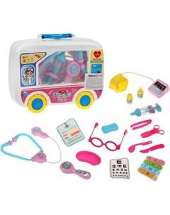 Игровой набор Доктор в чемодане 16 предметов Наша игрушка