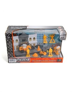 Игровой набор Строители Наша игрушка