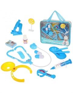 Игровой набор Доктор 14 предметов 9901 41A Наша игрушка