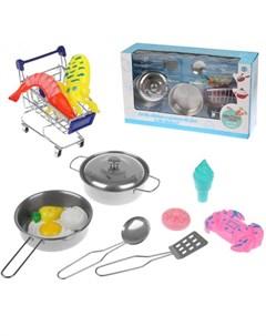 Игровой набор Посуда 14 предметов 23 3B Наша игрушка